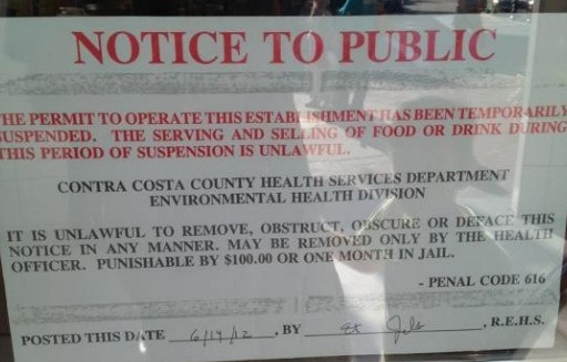 Perfect An Outbreak Of Norovirus Has Forced The Contra Costa County Environmental  Health Department To Shut Down The California Pizza Kitchen In Walnut Creek  ...
