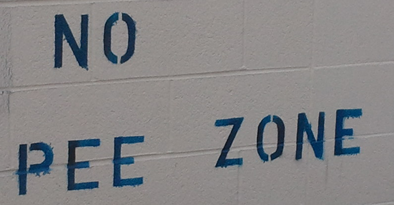no-pee-zone