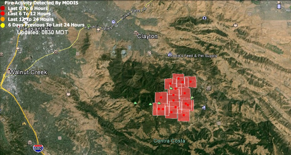 FIRE MAP & UPDATE: How Close it the Fire Burning to Downtown