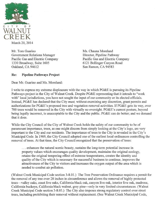 tree removal letter neighbor