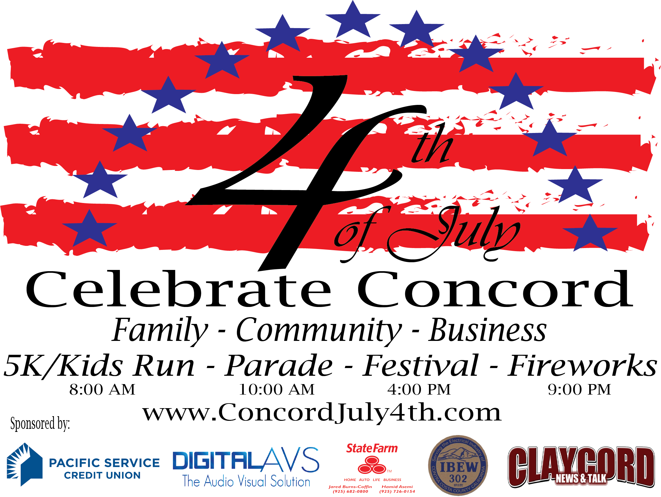 2014 4th of July Logo copy with sponsors - claycord Post-01