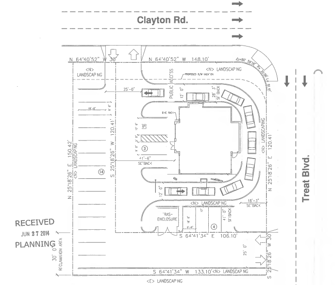 Starbucks Near Me >> Starbucks with Drive-Thru Planned for Clayton Rd. & Treat Blvd. in Concord —claycord CLAYCORD.com