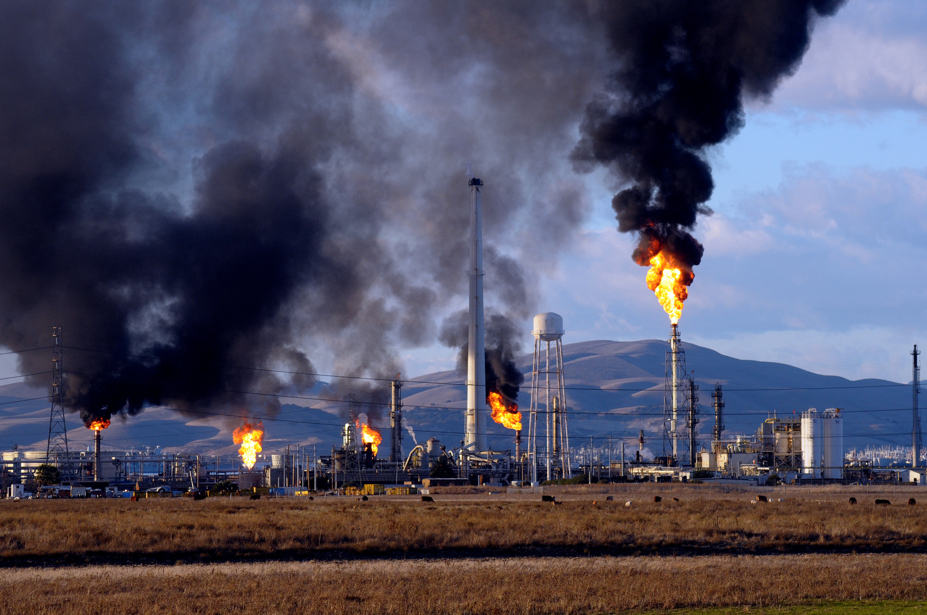 Image result for oil refinery pollution