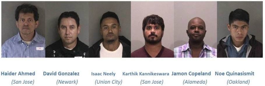 19 Arrested During Undercover Prostitution Sting in Union City