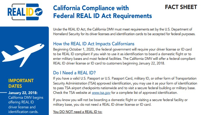 Id Cards Jan Start Claycord To com Citizens Real Issuing —claycord Starting 22 California